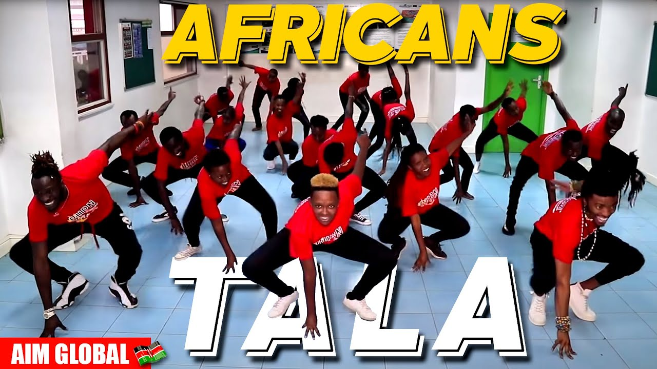 TALA DANCE REVOLUTION BY AFRICANS!