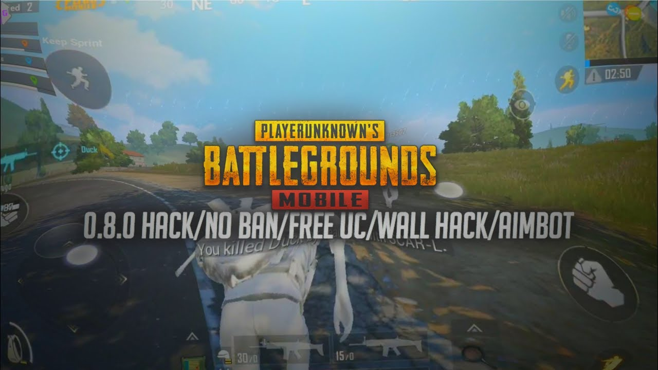 PUBG MOBILE MOD 0.8.1 NO BAN WALL HACKS + AIMBOT  PROOF