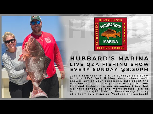 11-29-20 LIVE STREAM FISHING SHOW 8:30PM weekly! | https://HubbardsMarina.com