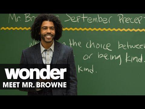 Wonder (2017 Movie) – Meet Mr. Browne (Daveed Diggs)