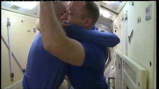 ISS Exp 53 Farewells and Hatch Closure