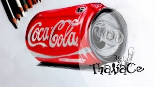 100 años de una #BotellaÚnica Drawing Coca-cola. (100 Years of the Coca-Cola Bottle)