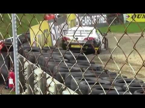 Warren Scott crash BTCC Brands Hatch