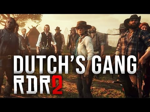 Red Dead Redemption 2 - Dutch's Gang All Confirmed Characters!