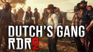 Red Dead Redemption 2 - Dutch's Gang All Confirmed Characters so far!