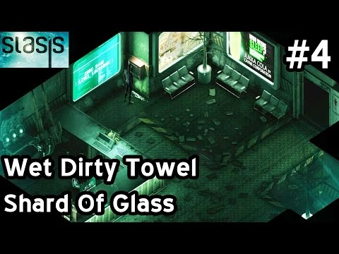 STASIS Walkthrough Let's Play Part 4 - Wet Dirty Towel - Shard Of Glass