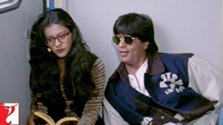 Video Raj & Simran - Train Scene | Shah Rukh Khan | Kajol download MP3, 3GP, MP4, WEBM, AVI, FLV Mei 2018