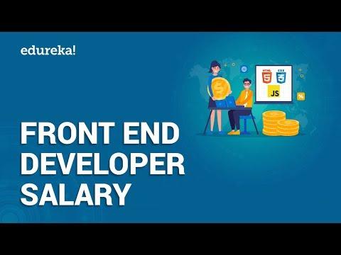 Front End Developer Salary | Average Salary Of A Front End Developer In India & US | Edureka