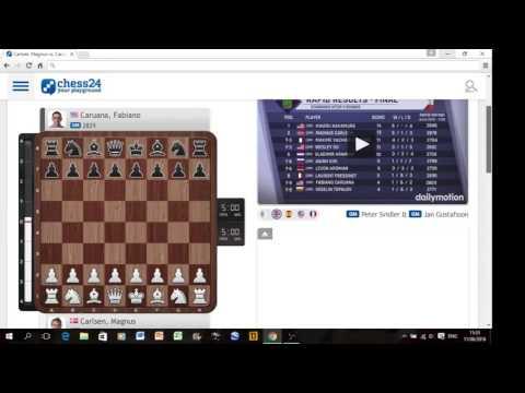 Paris Grand Chess Tour 2016 (Blitz)