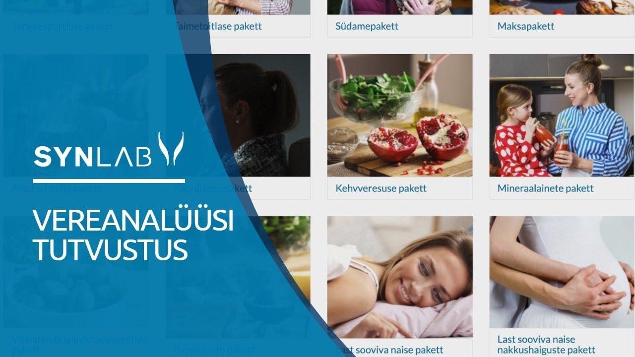 SYNLAB Eesti - Vereanalüüsid