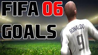 FIFA 06 GOALS FT. RONALDO, HENRY, RONALDINHO, DAVIDS AND MORE