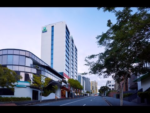 Holiday Inn Express Brisbane Central Time Lapse