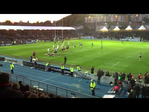 Glasgow Warriors win semi-final of the Pro12 v Ulster