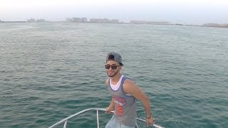 JUMPING FROM A YACHT IN DUBAI!