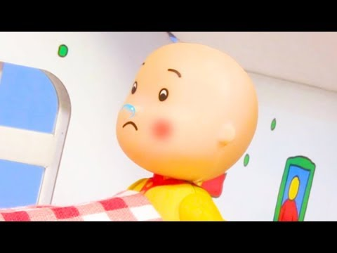 🤧 Caillou Has A Runny Nose 🤧 | Funny Animated Kids Show | Caillou Stop Motion