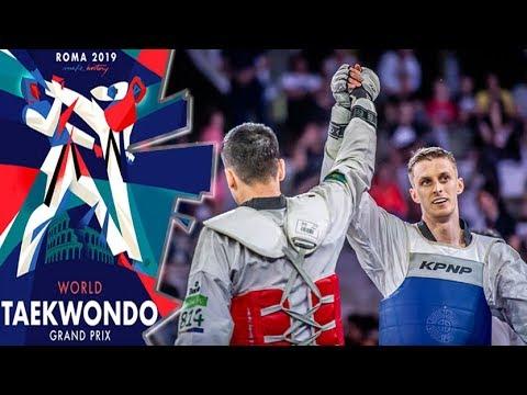 [Roma 2019 World Taekwondo GP] M+80kg Final - LARIN Vladislav(RUS) Vs ZHAPAROV Ruslan(KAZ)