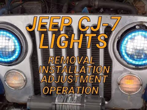 Jeep CJ-7 Lights/Lighting System