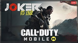 CALL OF DUTY MOBILE LIVE | COD MOBILE ON MOBILE | HYDRA JOKER