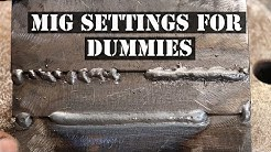 HOW TO MIG WELD FOR BEGINNERS