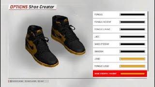 NBA 2K18 custom shoe