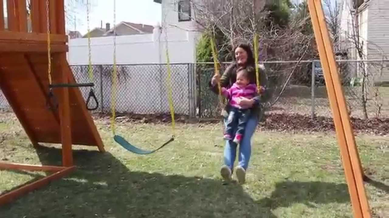 Swing Set Installation For Contest Winner Youtube