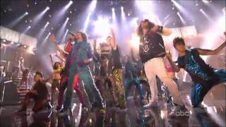 justin bieber is shufflin w lmfao party rock anthem amas 2011