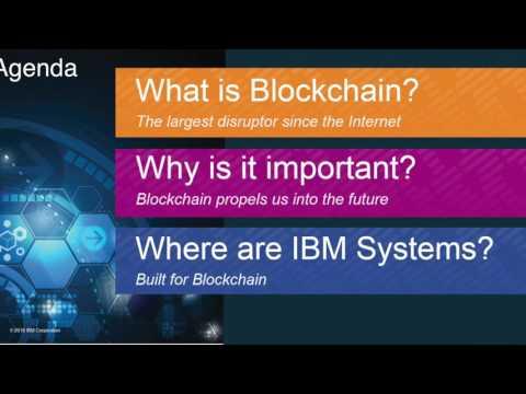 Blockchain  and IBM Systems  -  Lisa Jobson, IBM Canada