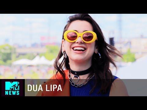 Download Youtube: Dua Lipa on Her New Album and Makeup Line   Governors Ball   MTV News