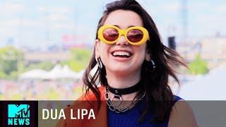 Dua Lipa on Her New Album and Makeup Line   Governors Ball   MTV News
