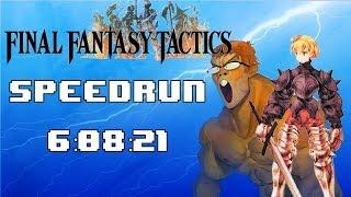 Final Fantasy Tactics Any% Speedrun (6:08:21)