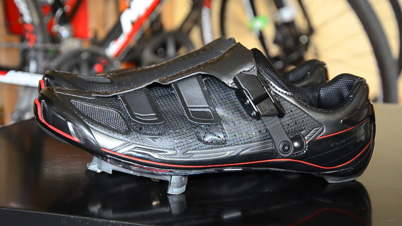 d7ba3824215 Shimano SH-R321 carbon road shoes - new model 2015 - YouTube