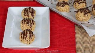Www.dessertsrequired.com's Peanut Butter Krispie Balls