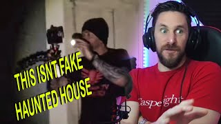 REAL HAUNTED HOUSE INVESTIGATION GOES WRONG - MindSeed TV Reaction