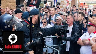 Anger as Tommy Robinson jailed for contempt of court