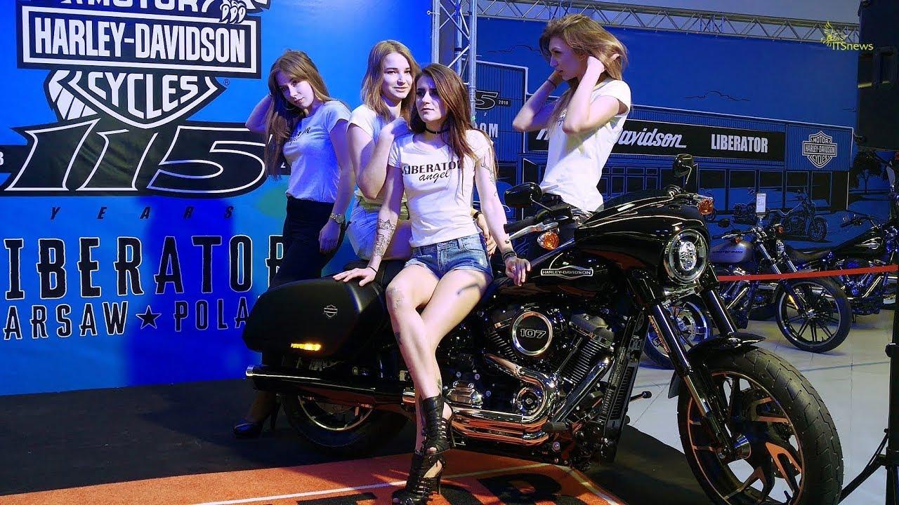 Harley Davidson Sport Glide premiera WARSAW MOTORCYCLE SHOW 2018-03-02