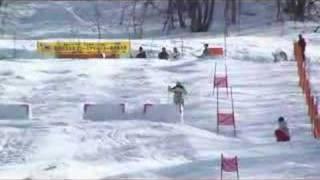 2008全日本選手権~モーグル~里谷多英、復活V 里谷多英 検索動画 17
