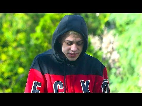 Pete Davidson Looks Somber In First Sighting Since Ariana Grande Breakup