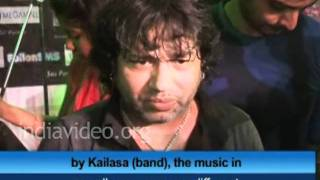 Indian pop-Rock singer Kailash Kher