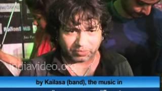 Indian pop-Rock singer Kailash Kher