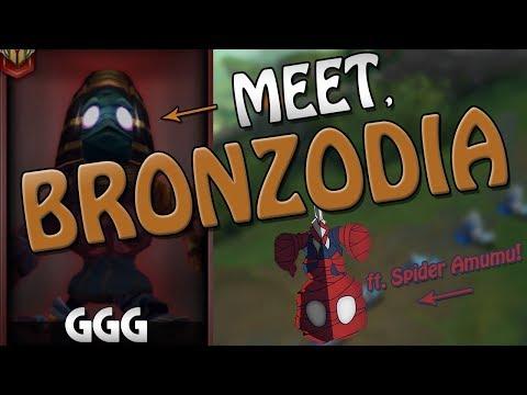 Meet Bronzodia!!! Ft. The Amazing Spider Amumu - League of Legends thumbnail