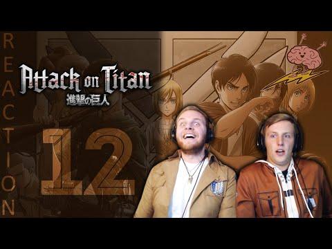 SOS Bros React - Attack on Titan Season 3 Episode 12 - This Is (Not) The ED