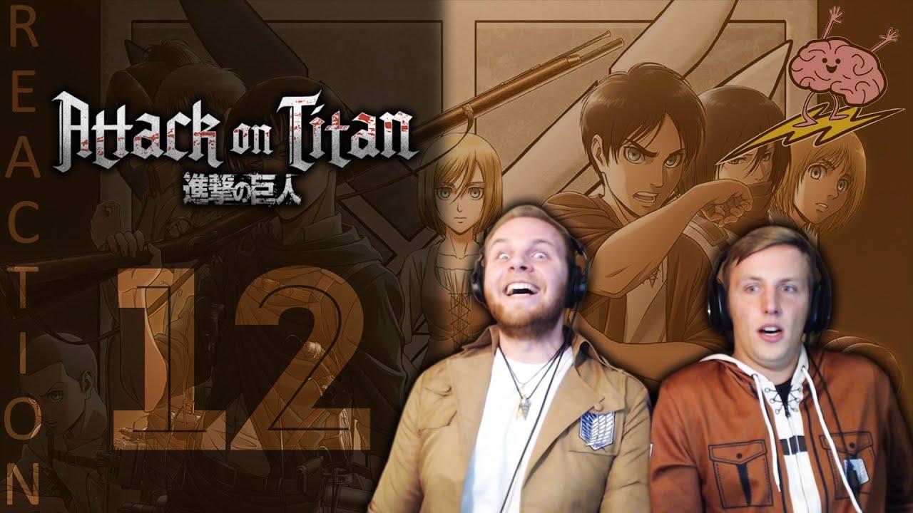 SOS Bros React - Attack on Titan Season 3 Episode 12 ...
