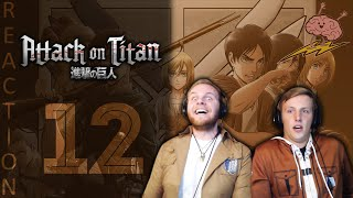 SOS Bros React - Attack on Titan Season 3 Episode 12 - This Is (Not) The ED