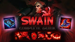 BEST SWAIN GUIDE [FULLY DETAILED] SEASON 9 - BEST COMBO AND OUTPLAYS, SNOWBALLER - League Of Legends