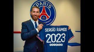 PSG - L'arrivée de Sergio Ramos à Paris, et ses premiers mots en français !