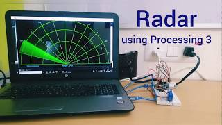 Radar (Sonar) using Processing 3