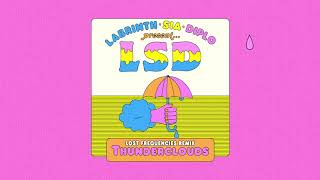 LSD - Thunderclouds (Lost Frequencies Remix) (Official Audio) Video