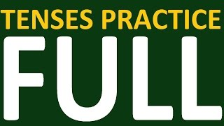 english tenses practice full course tesnes in english grammar with examples