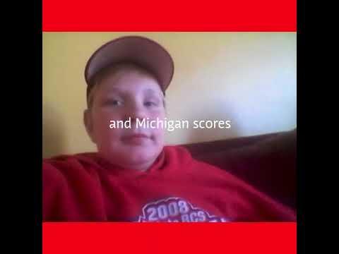Epic Ohio state vc Michigan game