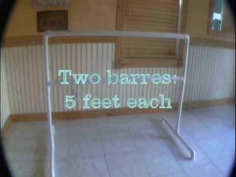 Portable Ballet Barre DIY  YouTube